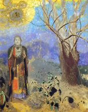 Redon Odilon Buddha Canvas 16 x 20   #4854