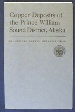 Usgs Copper Deposits Of Prince William Sound Alaska, 1950 with All Four Maps