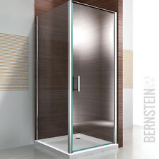 Duschkabine Dusche Eckdusche NANO Glas Echtglas EX416 - 80x80x195cm
