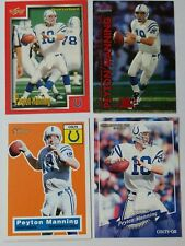 Peyton Manning   4 card lot  Indianapolis Colts quarterback  Score / Fleer