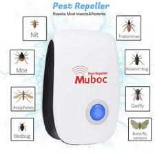 MuBoC Ultrasonic Pest Repeller - 6 Pack Insect Repeller Plug in