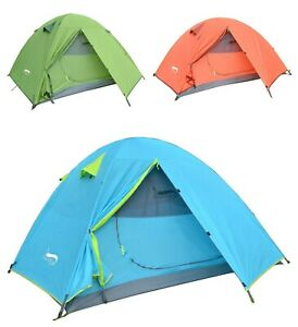 Outdoor Camping Tent Lightweight 2 Person Waterproof Portable Hiking Shelter