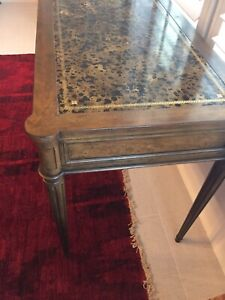 LAST CHANCE* Baker Furniture Leather Top Desk