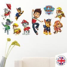 PAW PATROL Wall Stickers Vinyl Art Home Bedroom Poster KIDS BOYS GIRLS