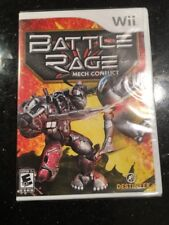 NINTENDO WII BATTLE RAGE MECH CONFLICT Brand New Factory Sealed