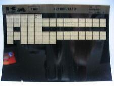 Kawasaki KZ1100 L1 LTD 1983 Parts Microfiche NOS k471