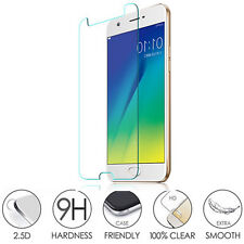2PC x Oppo R9S Genuine 9H Tempered Glass Clear Film Screen Protector New