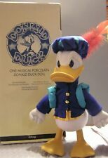 Donald Duck Musical Porcelain Doll from the Disney Store
