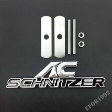 AC Schnitzer Car Front Grille Grill  Emblem Badge Decal Sticker Fit BMW X Q M Z