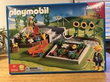Playmobil 3134 Superset Garden Farm Flowers Brand New In Box!