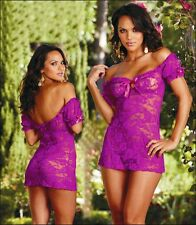 Sexy/Lace Sleepwear Babydoll Womens Underwear Top Dress Lingerie Wedding Clothes
