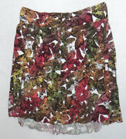 MIss Sixty A Line Designer Skirt Butterfly Pattern Waist 28 inches Size 10