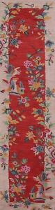 """Floral Traditional Oriental Runner Rug Hand-Tufted Wool 2' 8' x 11' 10"""" Carpet"""