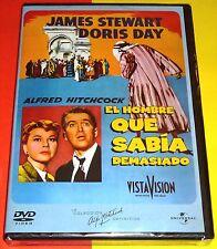 EL HOMBRE QUE SABIA DEMASIADO Alfred Hitchcock / James Stewart & Doris Day Preci