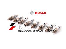 BOSCH PLATINUM SPARK PLUG SET 8 FOR BMW X5 E53 10.03 - 10.06 4.4L V8 N62B44