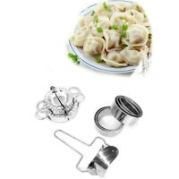 Stainless Steel Dumpling Mould Ravioli Maker Mold Pastry Dough Press Cutter