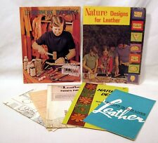 Lot of Leather Crafts & Techniques Booklets - Tandy - Jerry Jennings - Patterns