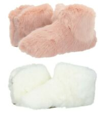 Authentic UGG Amary Faux Fur Soft Fluff Slippers Women's Ankle Bootie Shoes