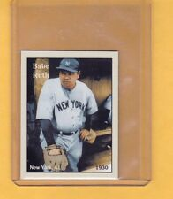 Babe Ruth, '30 New York Yankees, rare NYC cab card