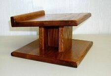 Custom Hand Made SOLID OAK  Speaker Stands Home Theater