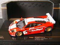 MCLAREN F1 GTR #9 GT ZHUHAI 1995 WALLACE GROUILLARD IXO GTM065 1/43 SAN MIGUEL