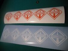 5 SMALL  INTERNATIONAL DIESEL NAVISTAR DECAL STICKER  ANY SINGLE COLOR LISTED
