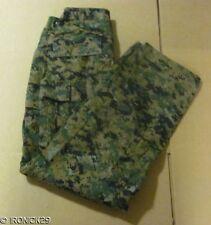 New USMC FROG Woodland Digital Camo Pants BDU Authentic SALE MED/LONG
