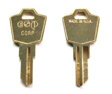 (2) Sentry Safe Keys Pre-CUT To Your Code K Code (K)