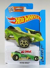 Hot Wheels 2015 #31 Preying Menace GREEN,1ST COLOR,GOLD 5SP,METAL BASE,INTL