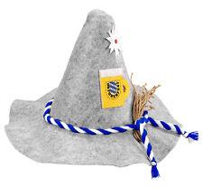 Bayrischer Seppelhut mit Bierkrug NEU - Karneval Fasching Hut Mütze Kopfbedeckun