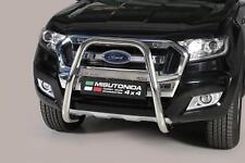 Ford Ranger T6 2012-2018 MACH Stainles Front High Bar, Bull Bar, Nudge Bar- 63mm