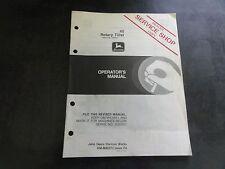 John Deere 40 Rotary Tiller Operator's Manual Om-M88273