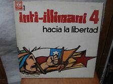 Inti-Illimani 4 - Hacia La Libertad -  LP copertina apribile disco 1975