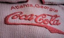 "Women's Coca-Cola Pink & Red Hooded Sweater ""Rare Collectible""  [SZ/1]"