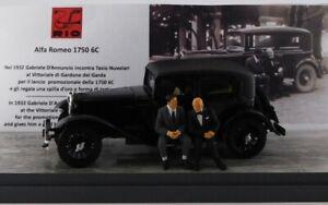 ALFA ROMEO 1750 6C 1932 Gabriele D'Annunzio / Tazio Nuvolari 1/43 RIO4639/P RIO