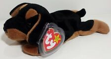 "TY Beanie Babies ""DOBY"" the Doberman Pinscher Dog - MINT - RETIRED! Please Read"