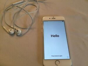 Apple iPhone 6 - 16GB - White and Silver (Unlocked) A1549 (GSM)