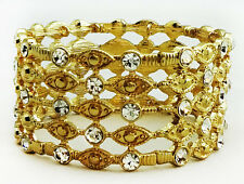 M. Haskell for INC Crystal Crystal Bead Stretch Bracelet Msrp $39.50