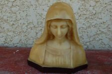 Vierge Marie en Cire  20 cm de haut  -//CO//