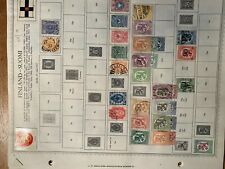 Finland stamp collection 1870-1965