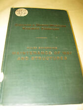 C &NW 1929 RULES OF MAINTENANCE OF WAY & STRUCTURES