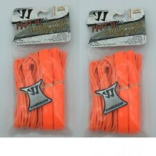 Lot of 2 Warrior Lacrosse Part B String Components Lax Strings Orange