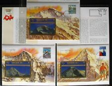 Svizzera Schede Telefoniche Taxcard Lettere Carte Tel. 3x Eiger, Vergine, Monaco