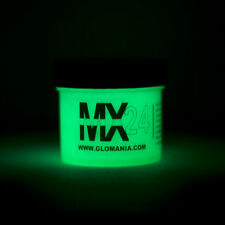 GREEN MX24 Extreme Glow in the Dark Paint Daytime Invisible Range 2oz
