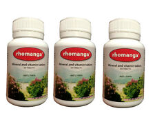 Percys Rhomanga Tablets - 3 bottles (60 tablets per bottle)