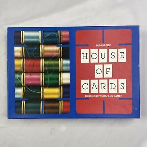 Size House of Cards Charles Eames 32 Picture Set 1992 Complete MOMA Medium