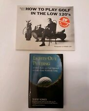 Lot of 2 Lights-Out Putting : A Mind, Body and Soul Approach to golf & how to
