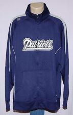 New England Patriots Jacket Team Name Full Zip Track Jacket - NFL