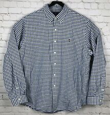 Ralph Lauren Long Sleeve Button Front Shirt Mens XXL Classic Fit Plaid