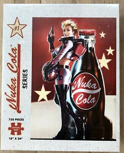 Fallout Nuka Cola Series USAopoly Puzzle 750 Pieces NEW SEALED